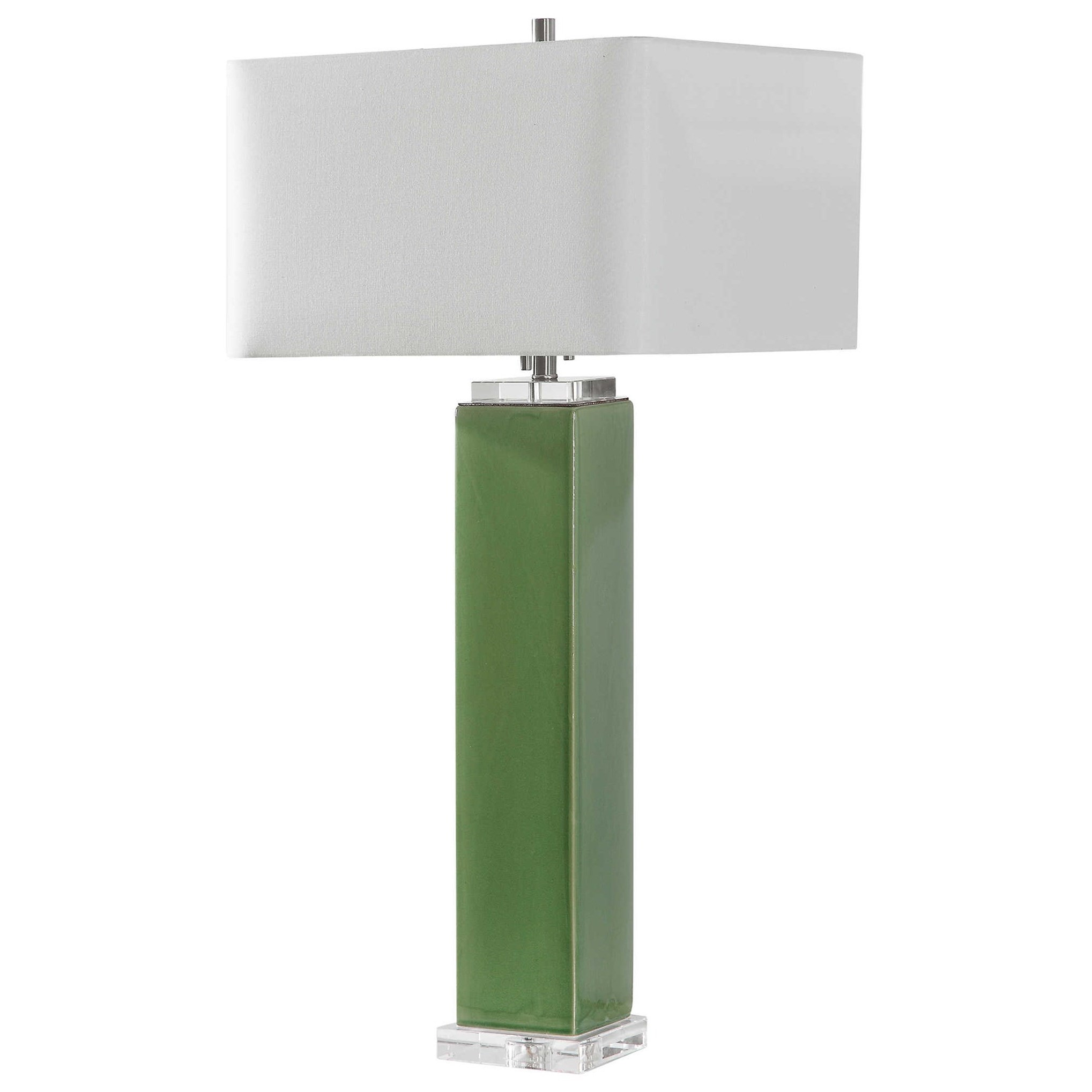 Aneeza Tropical Green Table Lamp