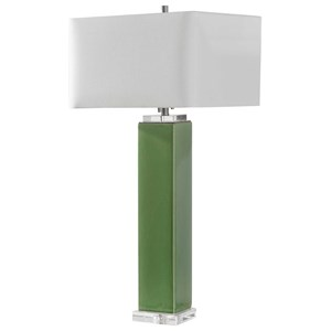Aneeza Tropical Green Table Lamp