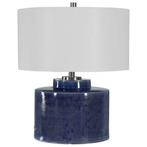 Monterey Blue Table Lamp
