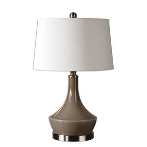 Uttermost Lamps Kerman Warm Gray Lamp