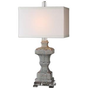 Uttermost Lamps San Marcello Blue Glaze Lamp