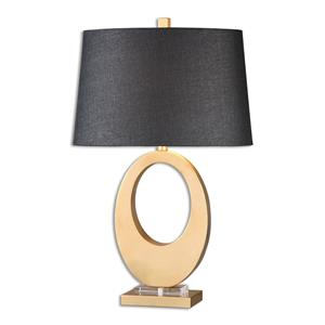 Uttermost Lamps Cadore Gold Table Lamp
