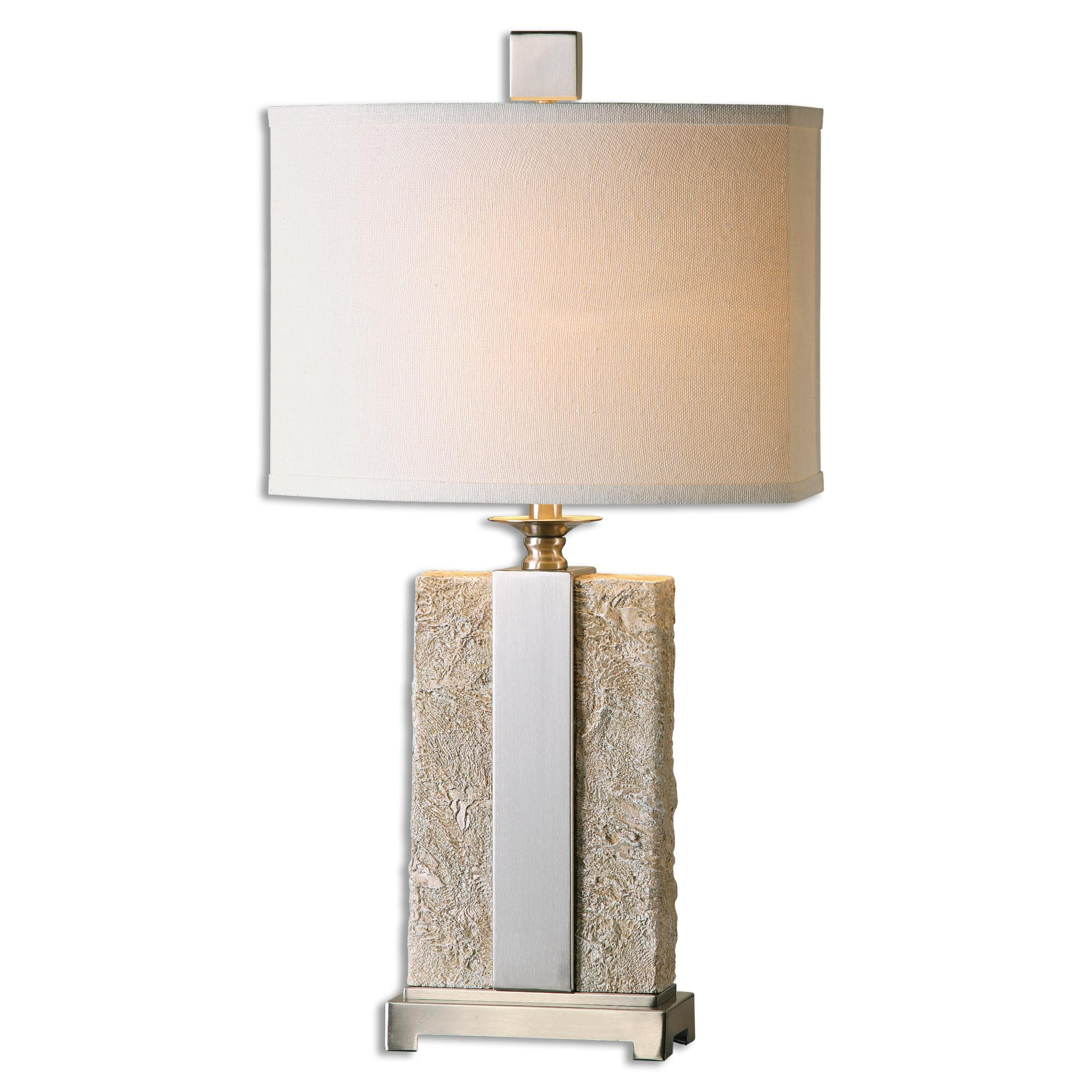 Bonea Stone Ivory Table Lamp