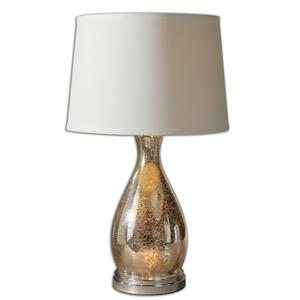 Uttermost Lamps Sardinia Silver Table Lamp