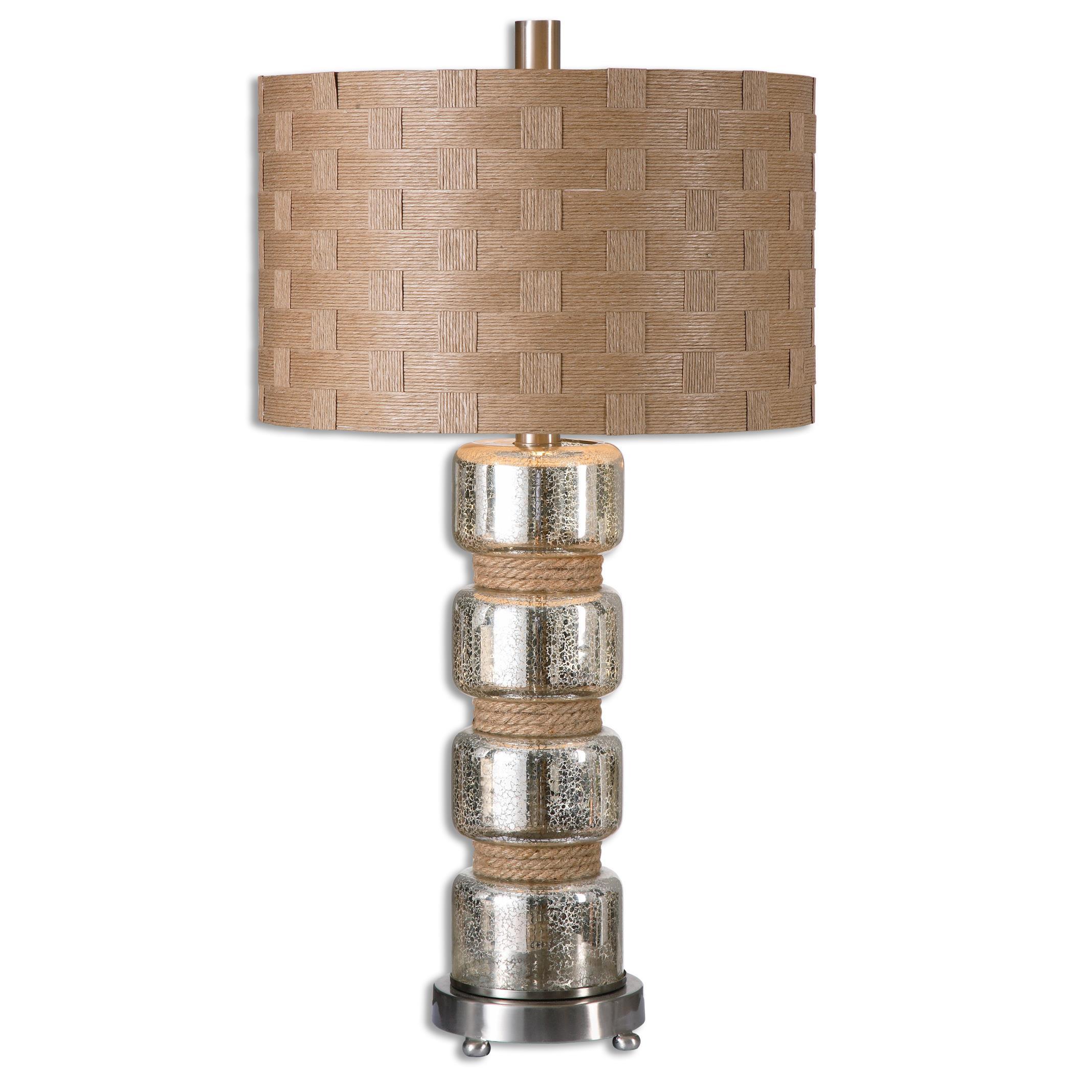 Cerreto Mercury Glass Table Lamp