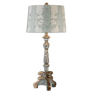 Uttermost Lamps Trimonte Aged Gray Table Lamp
