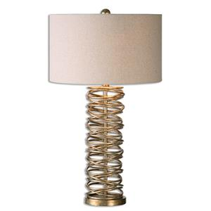 Uttermost Lamps Amarey Metal Ring Table Lamp