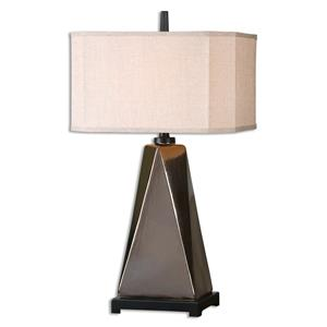 Uttermost Lamps Ceppaloni Metallic Bronze Table Lamp