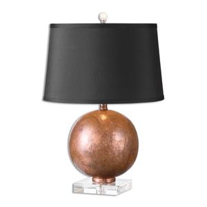 Uttermost Lamps Armel Oxidized Copper Table Lamp