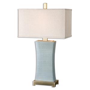 Uttermost Lamps Cantarana Blue Gray Table Lamp