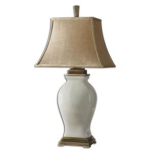 Uttermost Lamps Rory Ivory Table