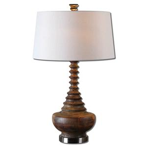 Uttermost Lamps Diega Solid Wood Table Lamp