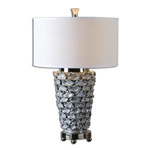 Uttermost Lamps Petalo Pearl Gray Table Lamp