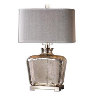 Uttermost Lamps Molinara Mercury Glass Table Lamp