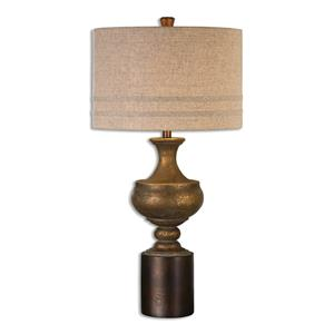 Uttermost Lamps Giuliano Antiqued Gold Table Lamp