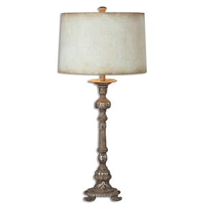 Uttermost Lamps Ballena Stone Gray Buffet Lamp