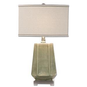 Uttermost Lamps Valbona Rust Gray Lamp