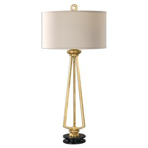 Uttermost Lamps Torano Antiqued Gold Lamp