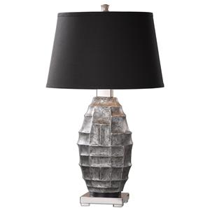 Uttermost Lamps Pechora Gunmetal Gray Lamp