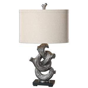 Uttermost Lamps Liana Gunmetal Gray Lamp