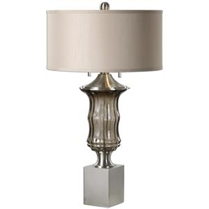 Uttermost Lamps Araby Smoke Gray Lamp