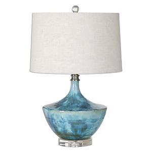 Uttermost Lamps Chasida Blue Ceramic Lamp