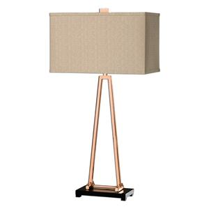Uttermost Lamps Rashawn Rose Gold Lamp