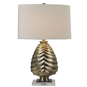 Uttermost Lamps Pieranica Antique Brass Lamp