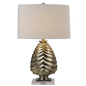 Uttermost Lamps Pieranica Antique Brass Lamp