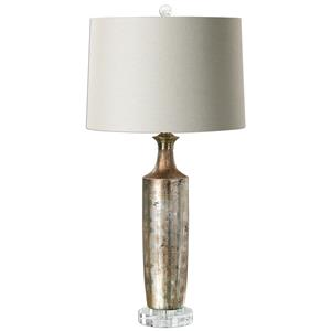 Uttermost Lamps Valdieri Metallic Bronze Lamp