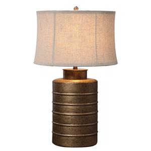 Uttermost Lamps Antiqued Gold Bamiro Lamp