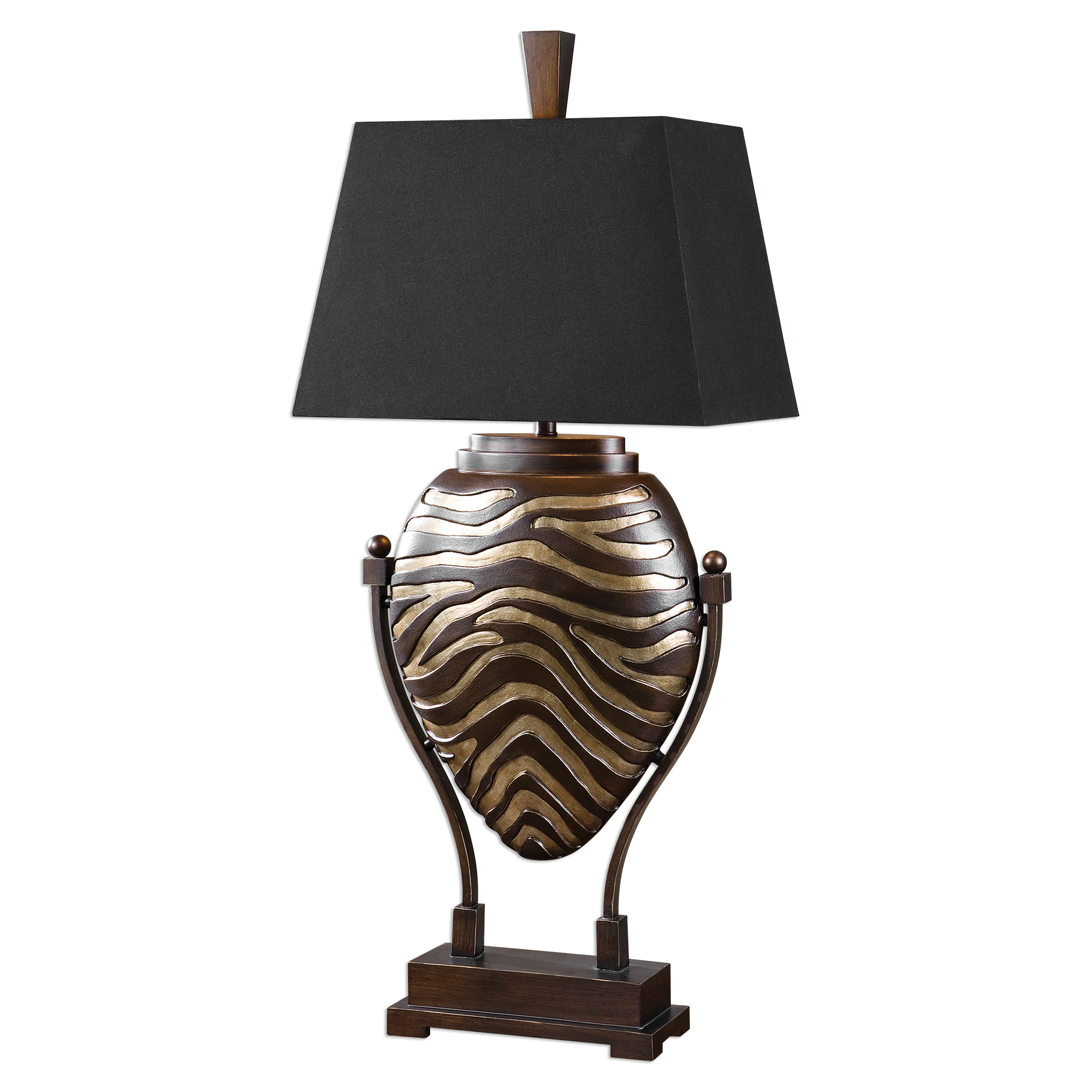 Uttermost Lamps Aguila Dark Bronze Table Lamp - Item Number: 27102