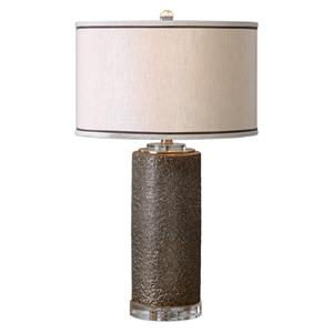 Uttermost Lamps Varaita Metallic Bronze Table Lamp