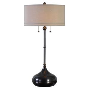 Uttermost Lamps Dounia Dark Bronze Table Lamp