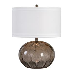 Uttermost Lamps Jasperse Amber Glass Lamp