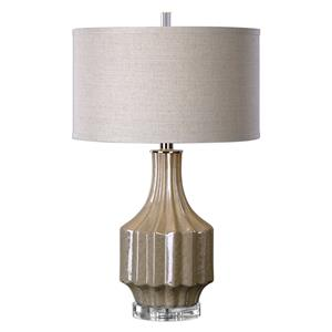 Uttermost Lamps Barron Sand Brown Table Lamp