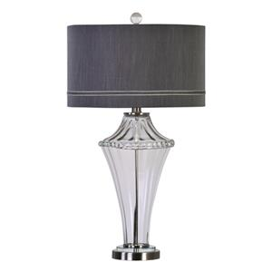 Uttermost Lamps Gironde Fluted Glass Table Lamp