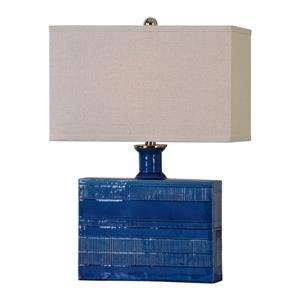 Uttermost Lamps Piota Blue Table Lamp
