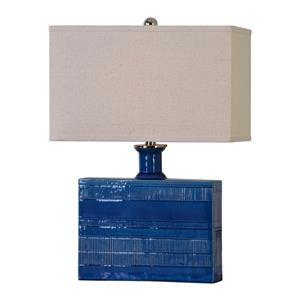 Uttermost Lamps Piota Blue Table Lamp
