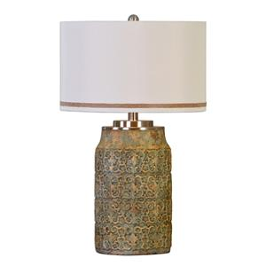 Uttermost Lamps Ceronda Mushroom Gray Table Lamp