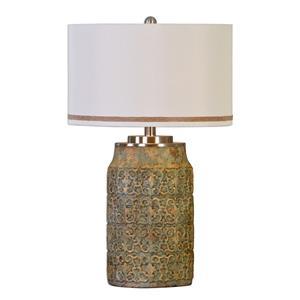 Uttermost Lamps Ceronda Mushroom Gray Table Lamp