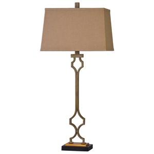 Uttermost Lamps Vincent Gold Table Lamp