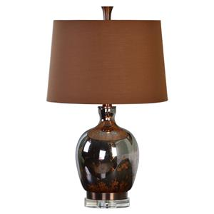 Uttermost Lamps Lilas Mercury Glass Table Lamp