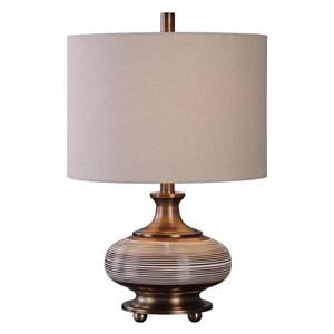 Strona Bronze Ceramic Lamp
