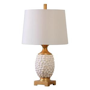 Uttermost Lamps Lazio Ivory Shell Table Lamp