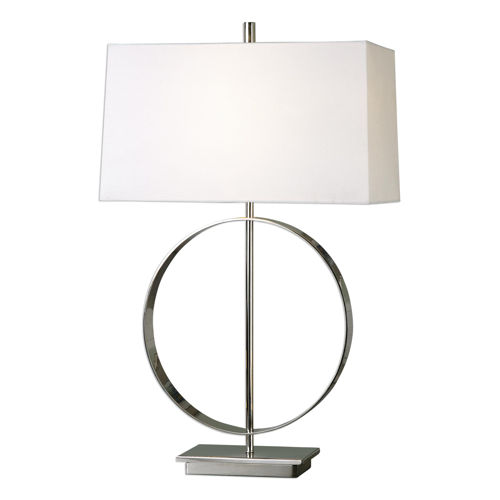 Addison Polished Nickel Lamp