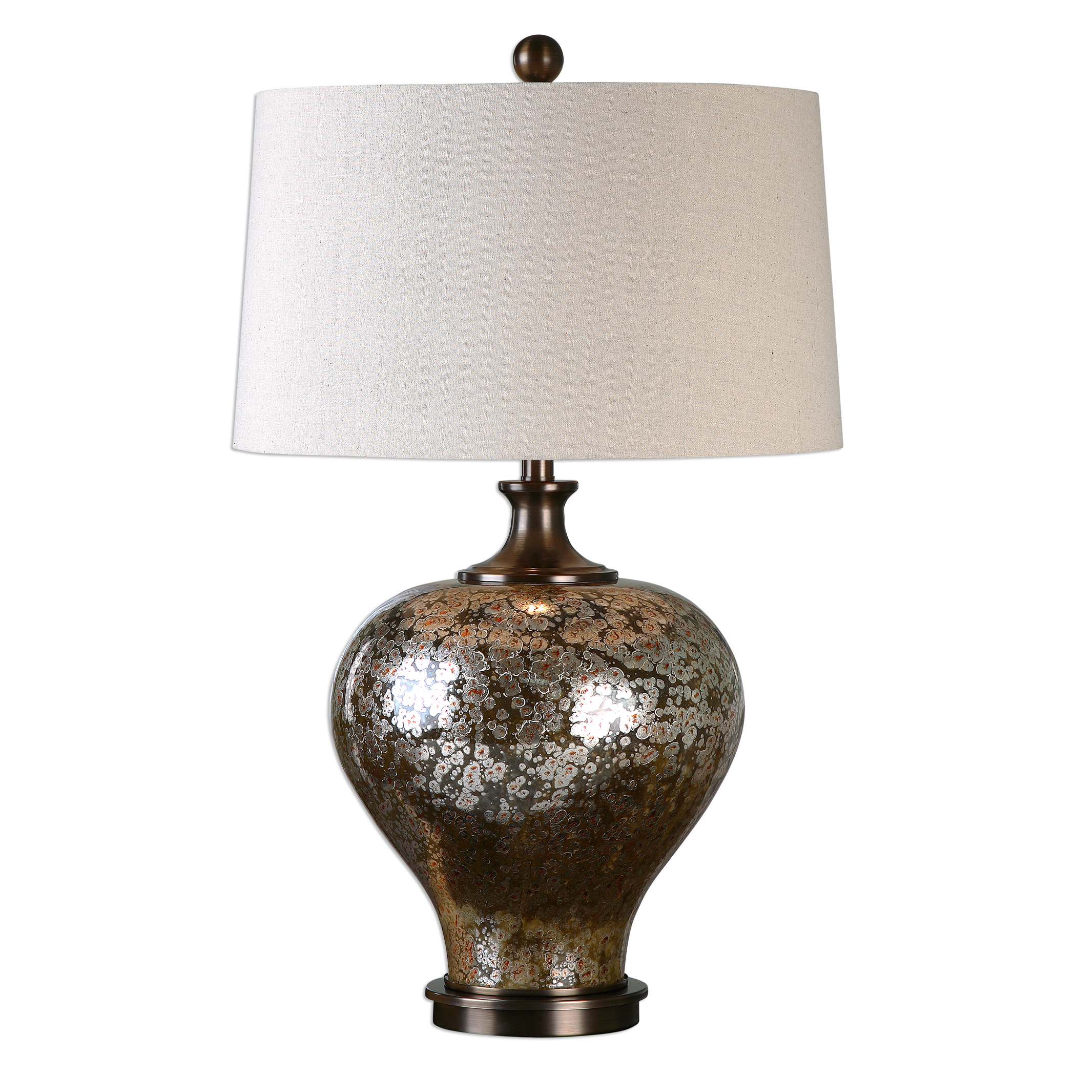 Uttermost Table Lamps 27154 1 Liro Mercury Glass Table