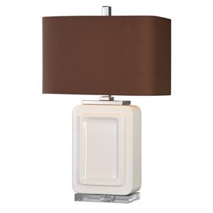 Uttermost Lamps Dantzler Gloss White Lamp