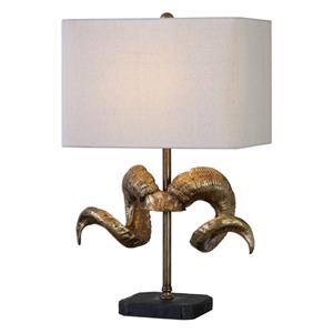 Uttermost Lamps Golden Horns Table Lamp