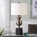 Uttermost Lamps Barner Metal Spheres Lamp
